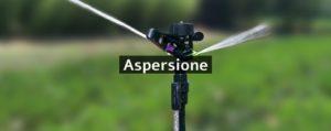 irrigatori per aspersione