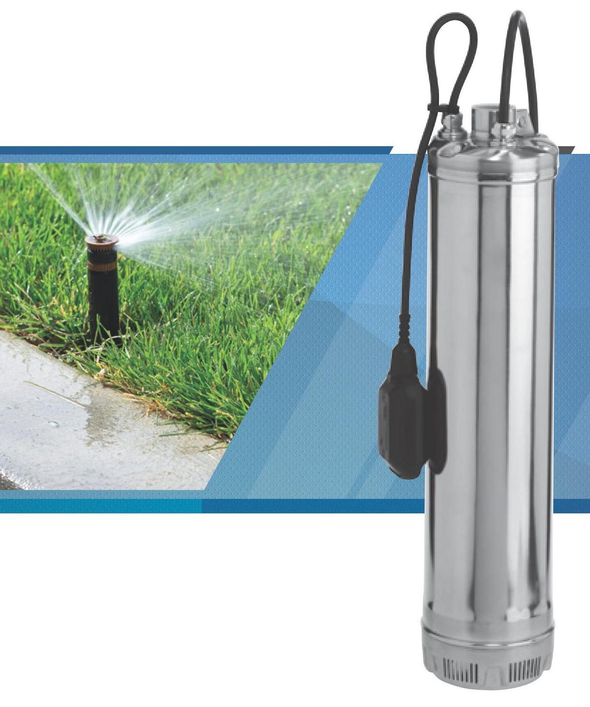 Schema Elettrico Per Pompa Ad Immersione : La pompa per l impianto di irrigazione informazioni tecniche